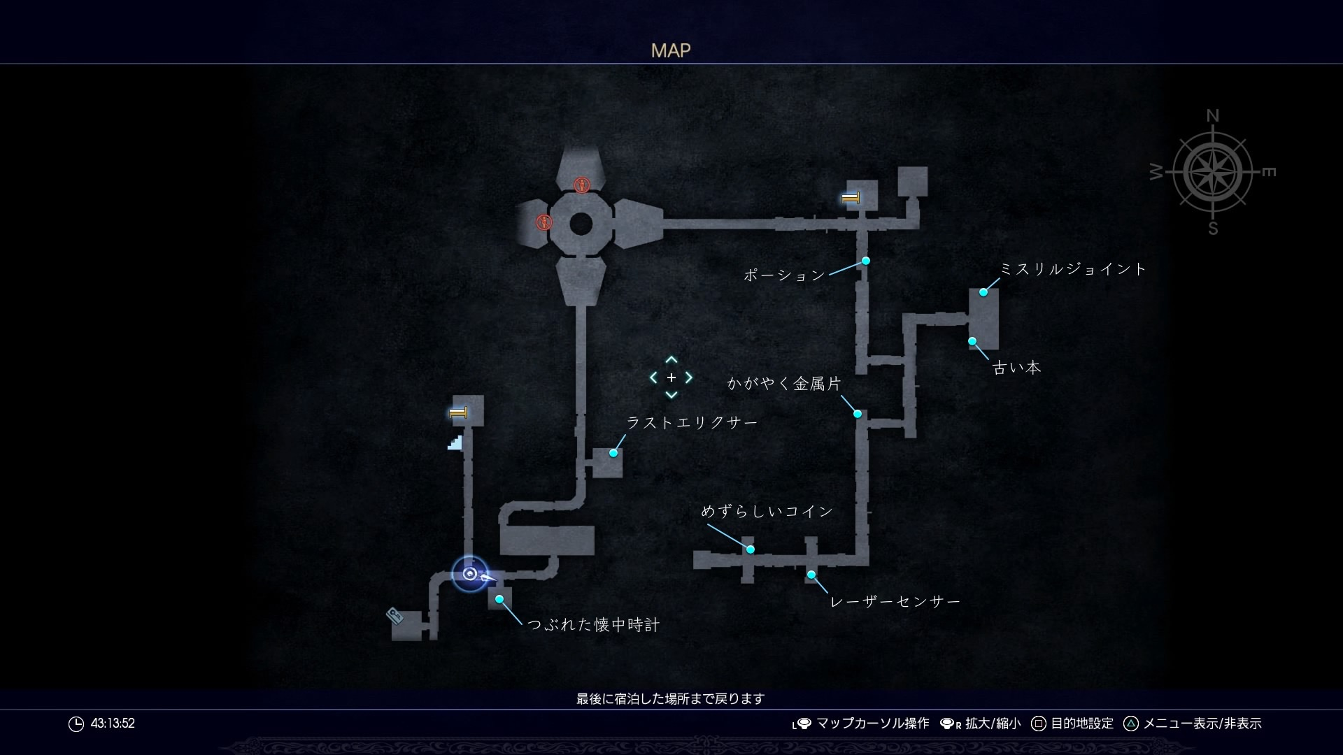 MAP・ジグナタス要塞一層