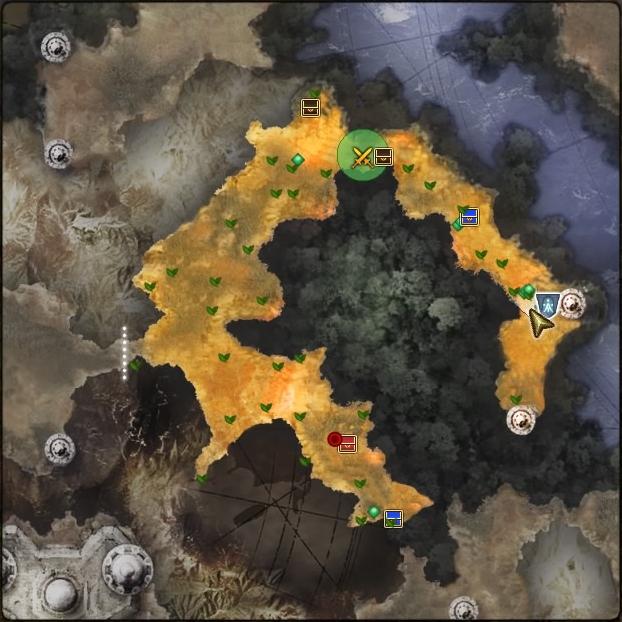 MAP・フェルダート森林道