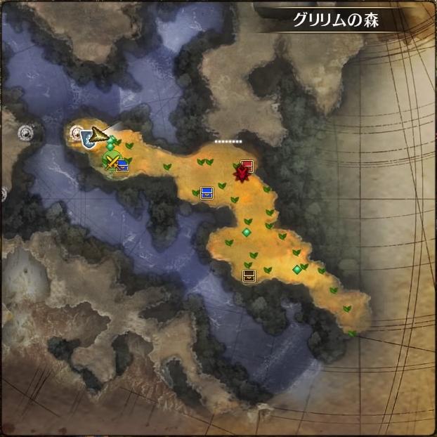MAP・グリリムの森