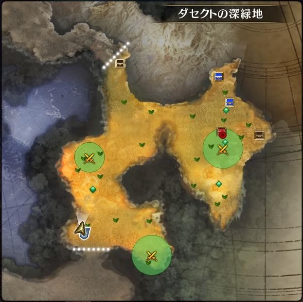 MAP・ダセクトの深緑地