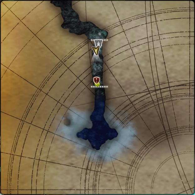 MAP・レインライン鍾乳洞3層