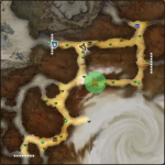 MAP・キャルトブラン風食路北西部