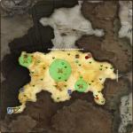 MAP・ウルタナ砂漠 南側