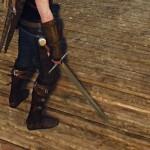 ウィッチャーの鋼の剣