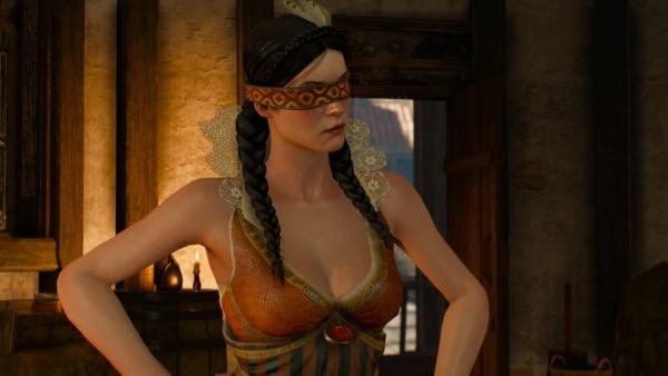 ダンディリオンの宿でイェネファーと女魔術師会に会う。